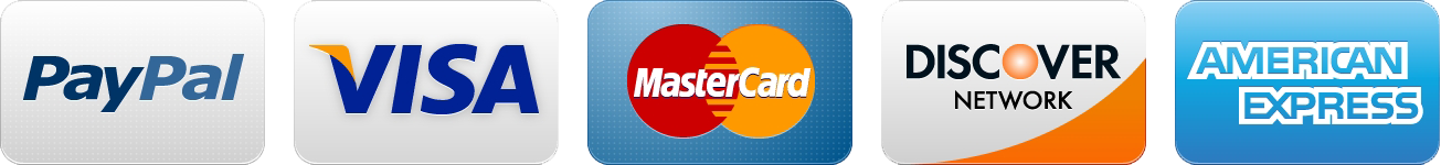 Visa Master Card PayPal